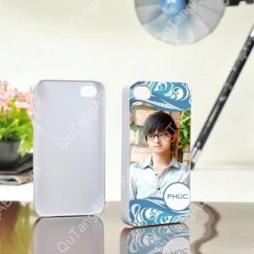 In hình lên vỏ iPhone 4 màu trắng
