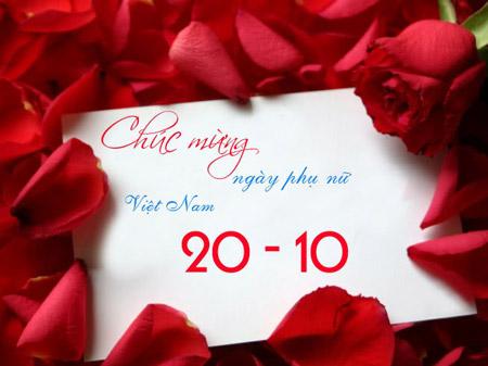 Quà tặng 20/10 chúc mừng ngày phụ nữ Việt Nam